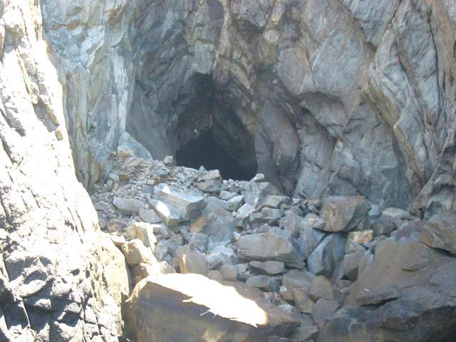 Cratera causada por um meteorito