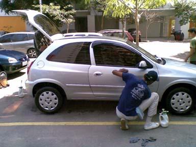 limpeza de veículos