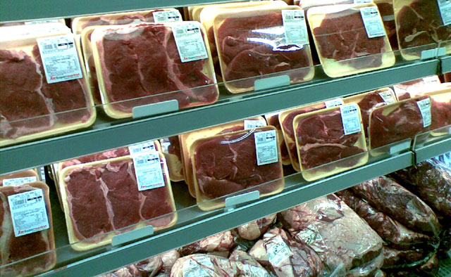 Carne embalada