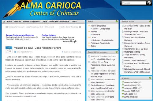 Alma Carioca - Contos e Crônicas